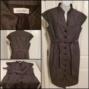Calvin Klein charcoal dress